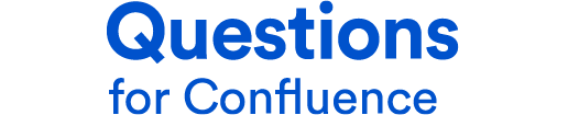 questions for confluence logo