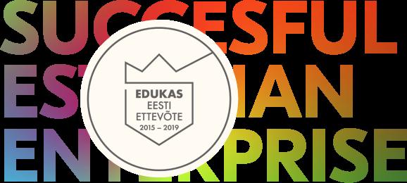 Eduka Eesti Ettevõtte tunnistuse logo