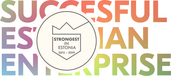 Successful Estonian company award logo
